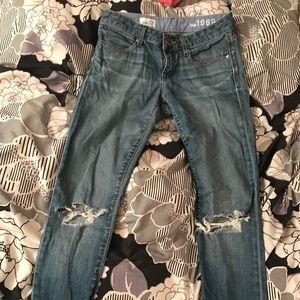 GAP knee slit jeans